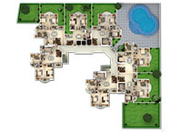Apartments in Cochin second floor Plan