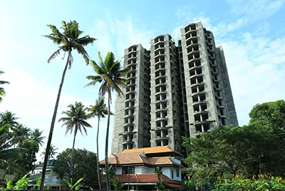 Apartments in Kochi work progress 4