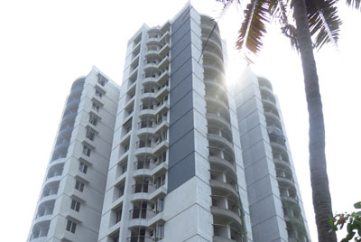 Apartments in Cochin Elevation right side